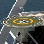 Вертолетная площадка для новобрачных
